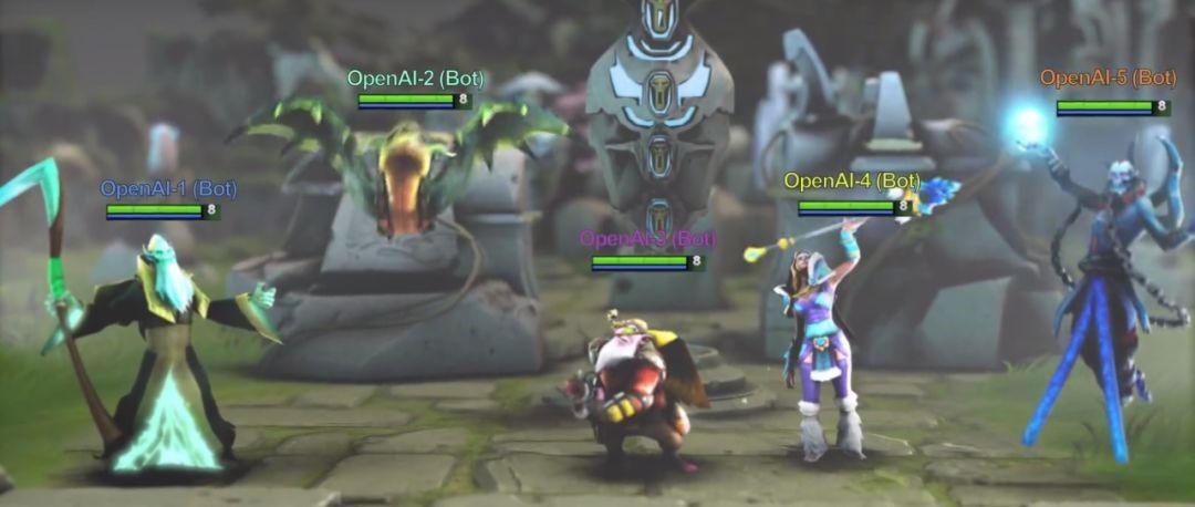 """Dota2被攻陷后,AI与玩家只能拼个""""你死我活""""吗?"""