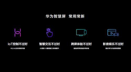 """鸿蒙OS,华为智慧屏""""常用常新,十年不过时""""的底气所在"""