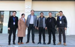 诚挚欢迎吴余龙博士、陈辉博士一行莅临物联网示范园考察
