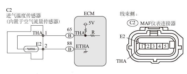进气温度传感器的安装位置、作用、工作原理、检测方法