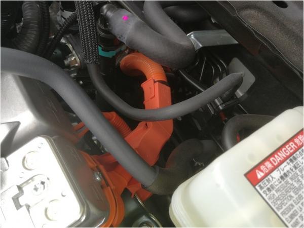 雷克萨斯ES300h(新能源)发动机舱线束构造浅析