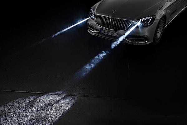 奔驰CES Asia推四项黑科技:AI、L5自动驾驶、数字大灯全都有