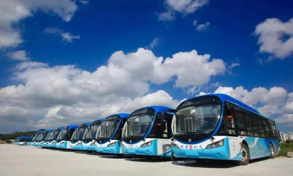 银隆《首批纯电动公交车落户珠海》