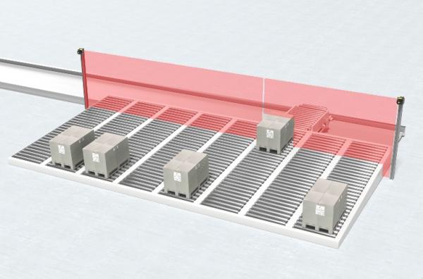 劳易测多轨道输送系统的安全防护解决方案