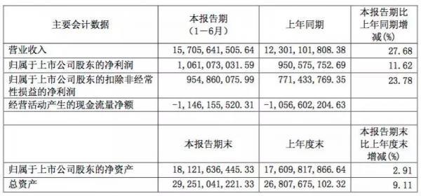财报|中天科技上半年营收达157亿元