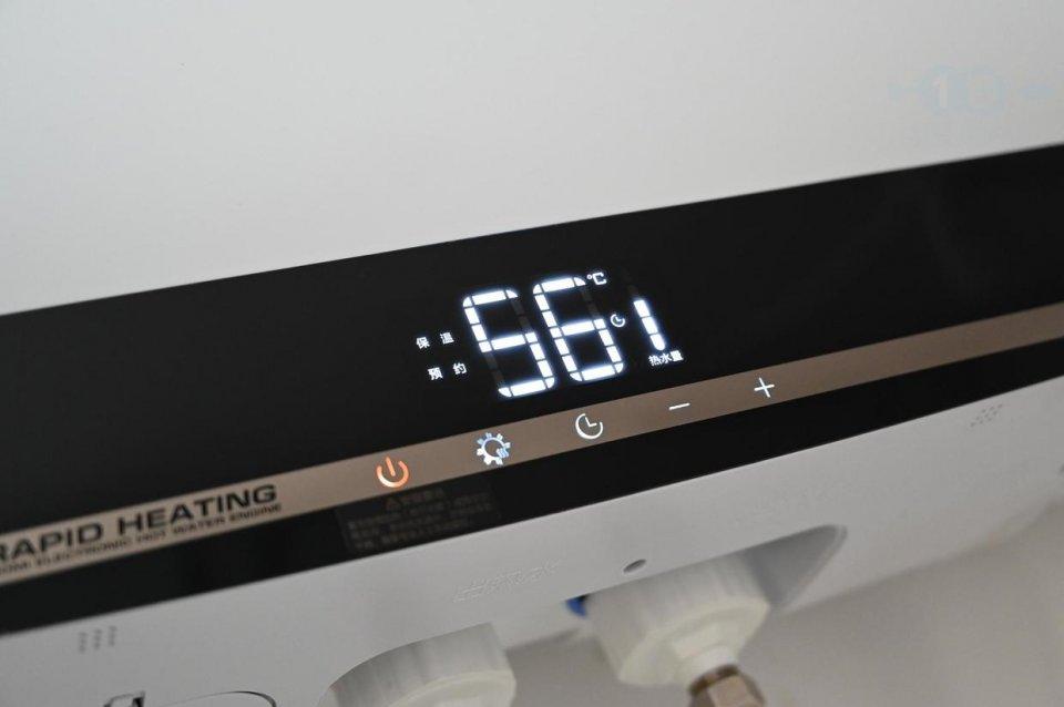云米电热水器S1,随时预约快加热,大容量水箱不仅是保温
