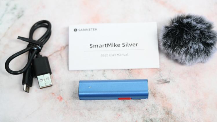 塞宾Silver无线领夹式麦克风降噪效果实测