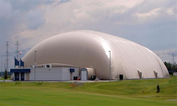 从三大方面来讲解气膜建筑低碳环保