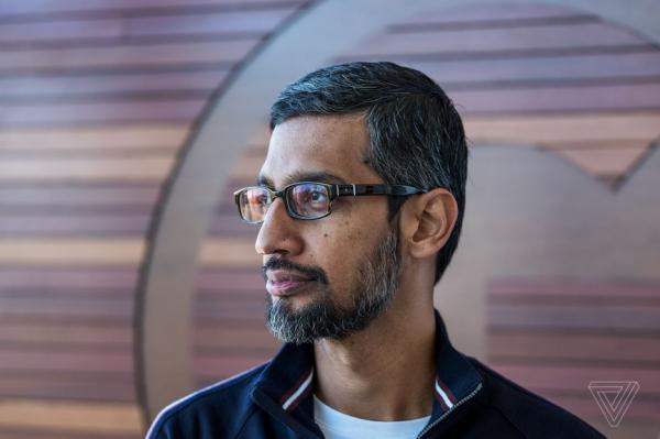 """谷歌CEO Pichai表示,探索""""中国搜索""""对谷歌非常重要"""