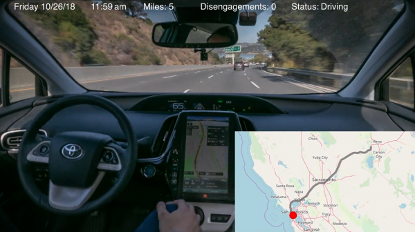 前优步汽车工程师声称无人车自己行驶3000英里,破行驶最长纪录