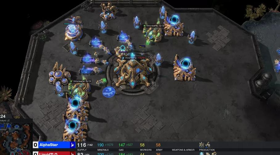 DeepMind公布星际争霸2结果:AlphaStar 以10:1战胜职业高手
