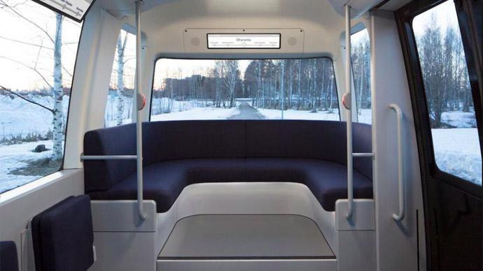 世界上第一辆全天候自动客车在芬兰推出,竟是Muji设计!