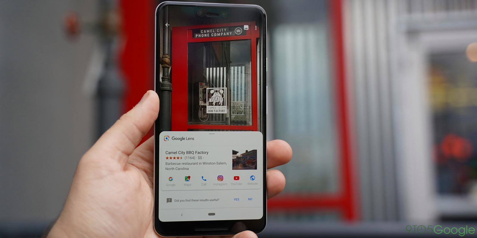 谷歌Lens增加新功能,购物餐饮翻译全覆盖!
