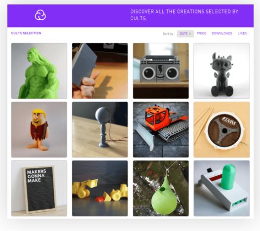 SLA3D打印机的免费模型下载网站
