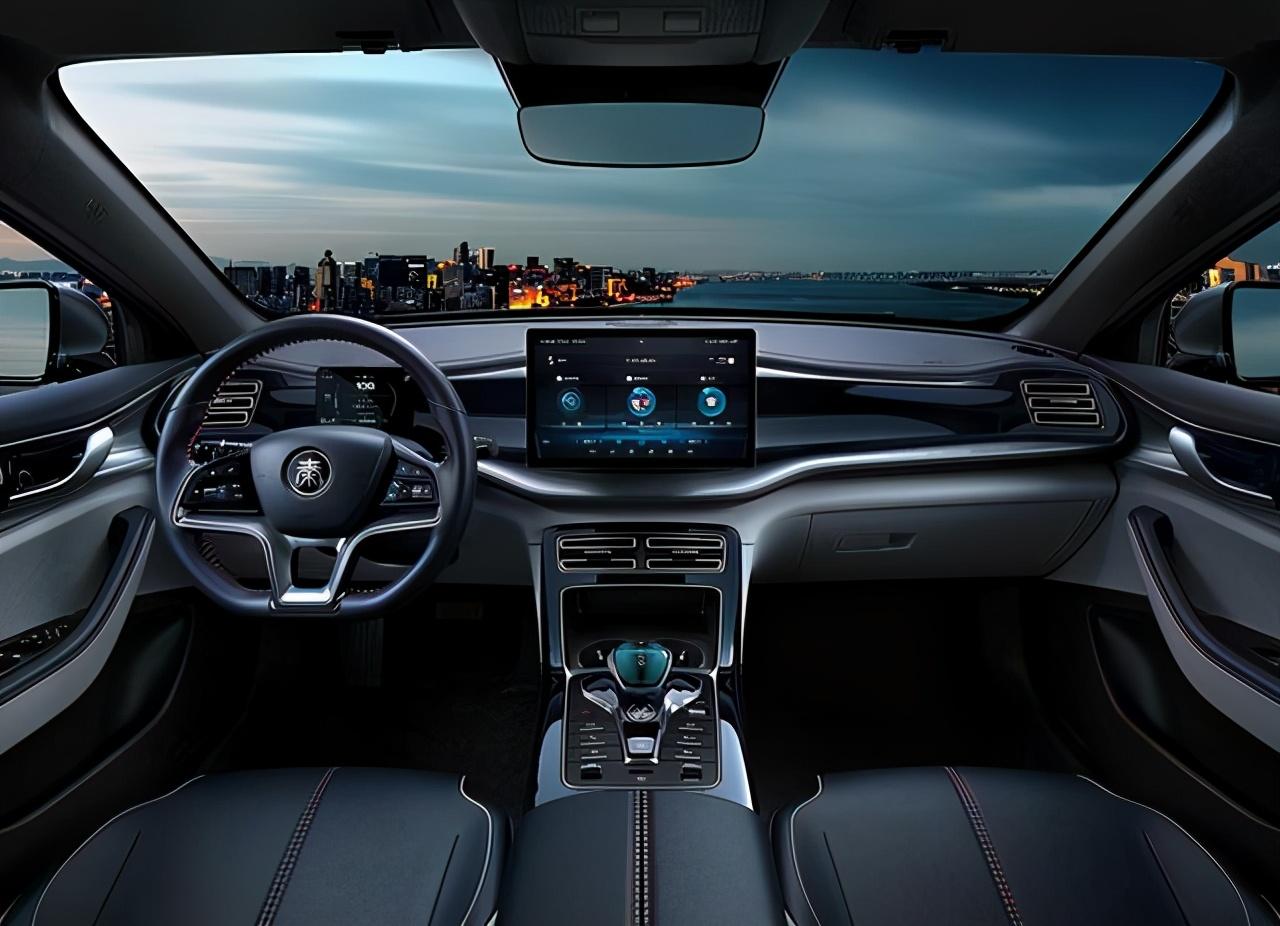 比亚迪汉EV的平替来了!秦PLUS EV售价或14万起?