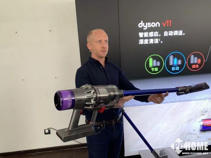 续航升级吸力更强 戴森无绳吸尘器V11中国发布