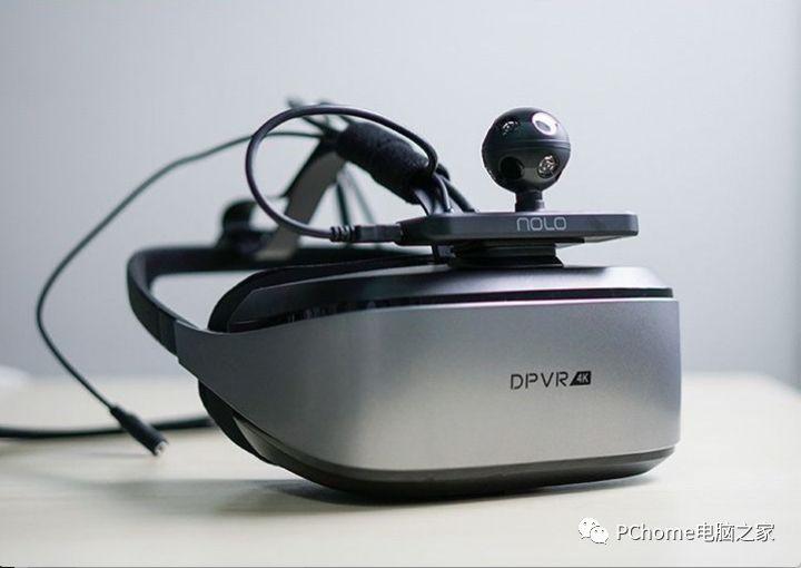 大朋VR发布全新高端VR头盔设备,告别VR产品的模糊体验